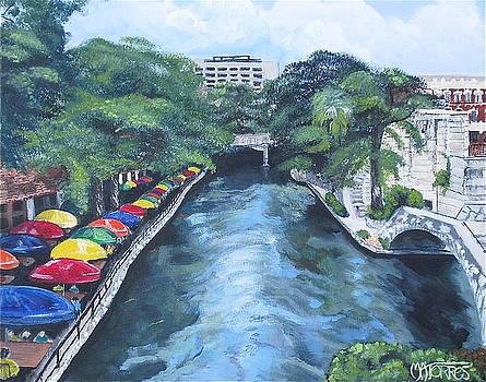 San Antonio River Walk by Melissa Torres