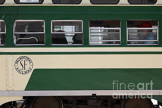 Wingsdomain Art and Photography - San Francisco Vintage Streetcar on Market Street . 5D17974