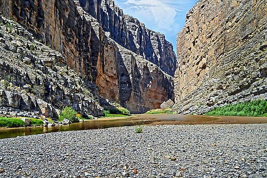 Judy Hall-Folde - Santa Elena Canyon