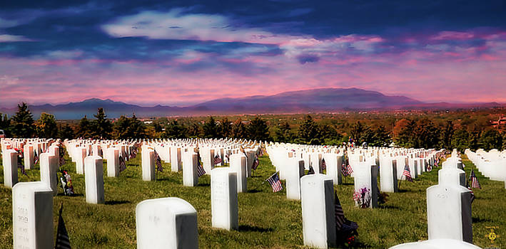 Santa Fe Naional Memorial Cemetery by Tony Lopez