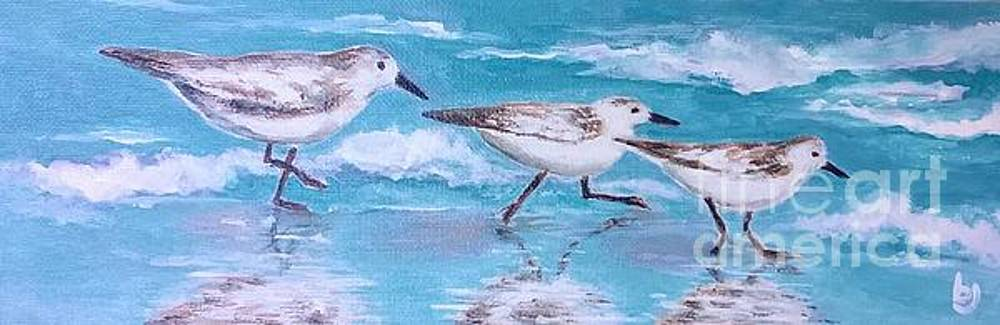 Sea Birds by Betty Pinkston