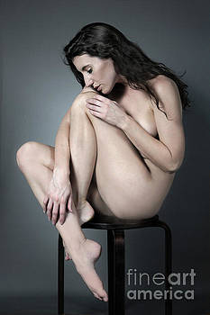 Seated Nude by Dan Holm