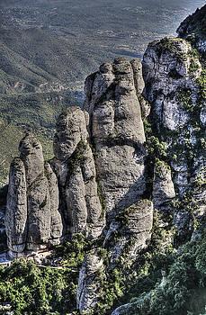 Isaac Silman - Sedimentary Rocks Montserrat Spain