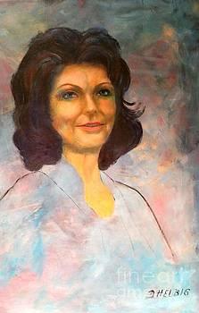 Selfportrait by Dagmar Helbig