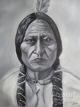 Sitting Bull by Lance James