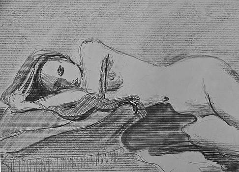 Sleeping Nude by Don Perino