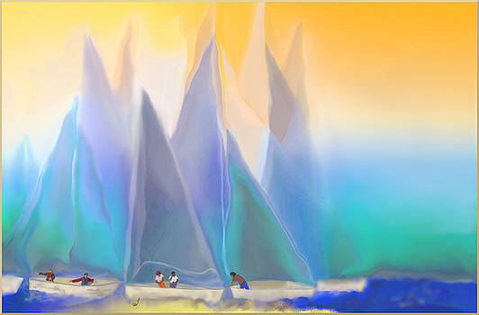 Smooth Sailing by Mathilde Vhargon