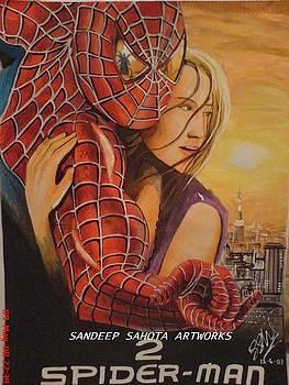 Spiderman by Sandeep Kumar Sahota