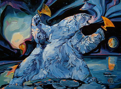 Spirit of the Arctic Winter Games  by Tim  Heimdal