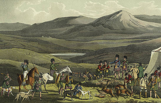 Henry Thomas Alken - Sporting Meeting in the Highlands
