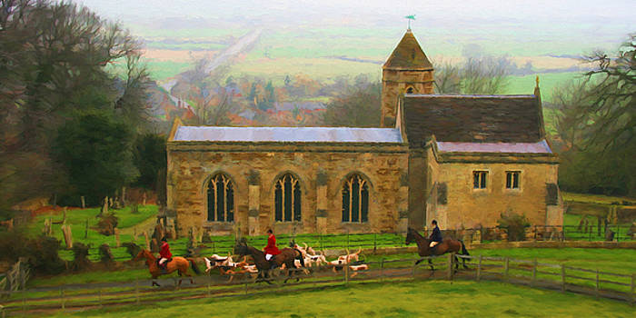 St Leonard's Church. Rockingham.  by ShabbyChic fine art Photography