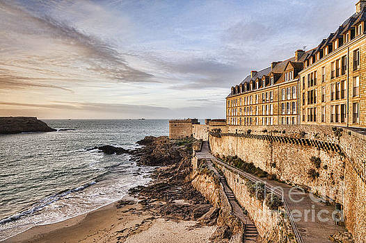 St Malo Brittany France by Colin and Linda McKie