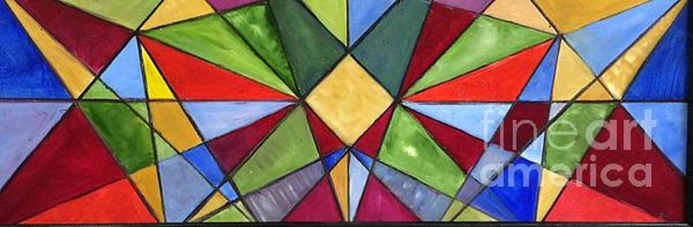 Stained Glass 1 by Tina Swindell