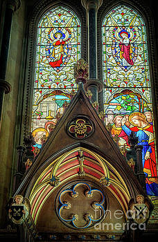 Adrian Evans - Stained Glass Window
