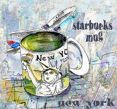 Miki De Goodaboom - Starbucks Mug New York