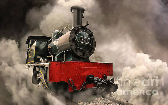 Steam Engine by Charuhas Images