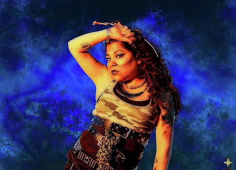 SteamPunk - Model Audrey Martinez by Tony Lopez