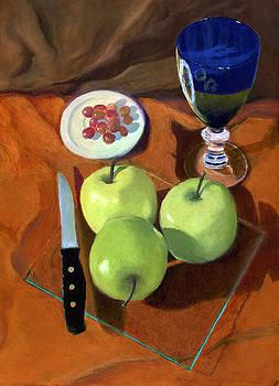 Still Life with Apples by Karyn Robinson