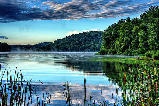 Summer Morning on the Lake by Thomas R Fletcher