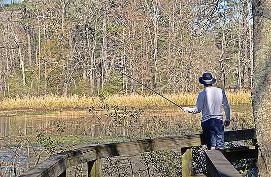 Sunday Fisherman by Linda Brown