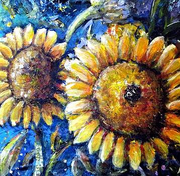 Sunflowers  by Bernadette Krupa