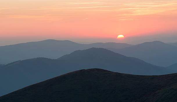 Sunset in the Carpathians by Sergey Ryzhkov