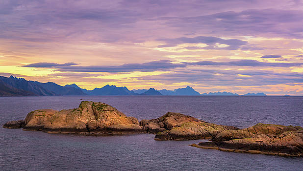 Sunset in the North by Maciej Markiewicz