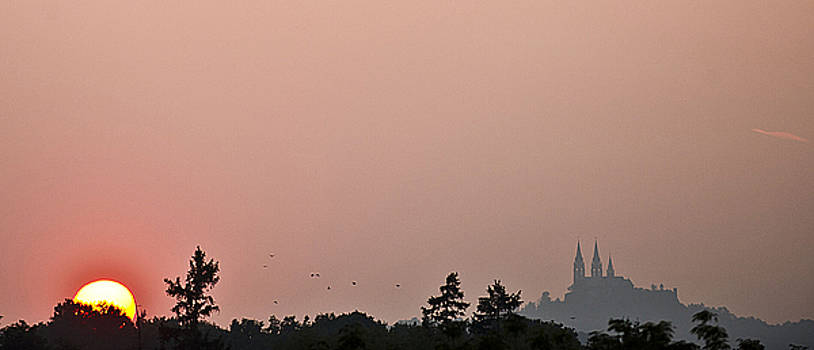 Sunset over Holy Hill 4 by Jennifer Brindley