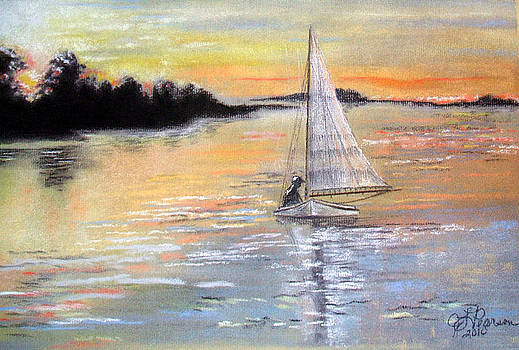 Sunset Sail by Judy Pearson
