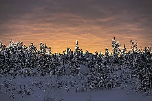 Sunset by Valerie Pond
