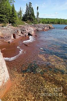 Superior Shoreline by Sandra Updyke