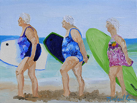 Surfs Up by Michael Lee