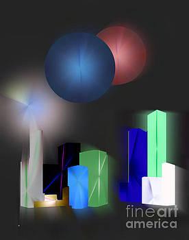 Surreal City by John Krakora