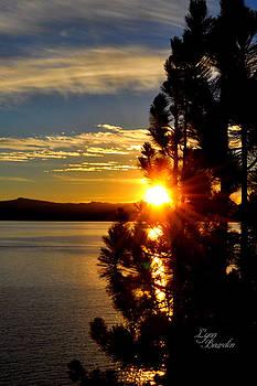 Tahoe Sunset by Lynn Bawden
