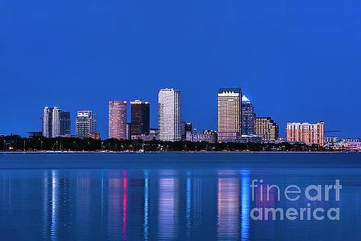 Tampa Skyline by John Greim