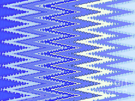Tapestry In Blue Two by Ann Johndro-Collins