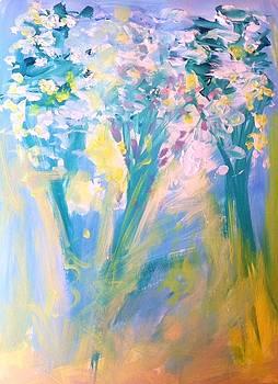 The garden  by Judith Desrosiers