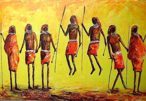 The Jumping Dance by Joseph Muchina
