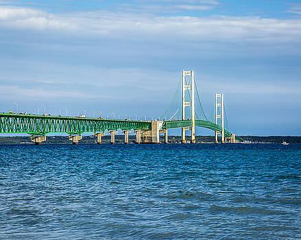 Jack R Perry - The Mackinac Bridge aka The Big Mac