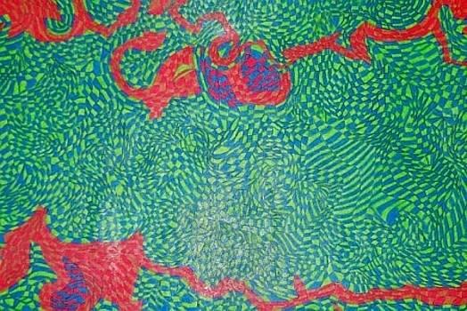 The Mind Kaleidoscope 3 by Jonathon Hansen