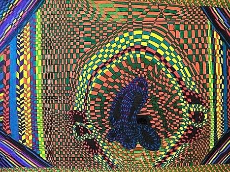 The Mind Kaleidoscope 5 by Jonathon Hansen