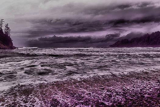 The raging ocean by Jeff Swan