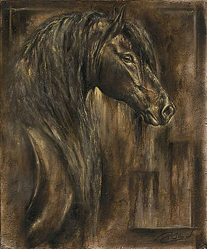 The Spirit of a Horse by Paula Collewijn -  The Art of Horses