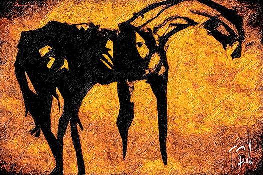 The Stallion at Escondita by Terry Fiala