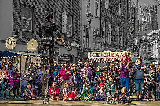 The Street Performer by Gemma Greaves