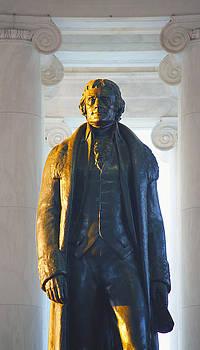 Thomas Jefferson by Mitch Cat