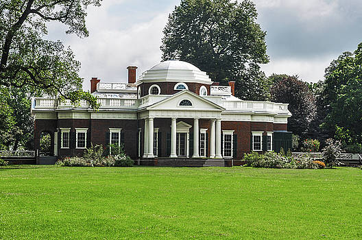 Thomas Jeffersons Monticello by Bill Cannon