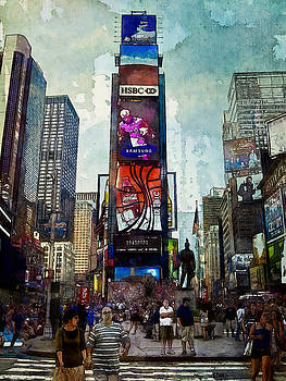 Times Square by Kai Saarto