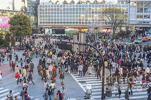 Patricia Hofmeester - Tokyo crossing