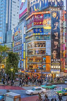 Patricia Hofmeester - Tokyo streetscene